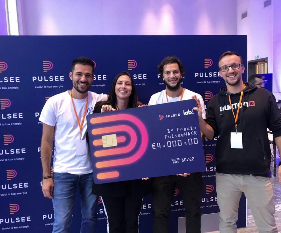 Primo premio per SplittyPay al PulseeHACK