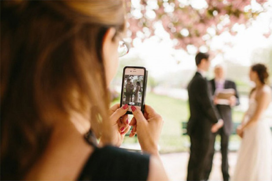 Come raccontare il proprio matrimonio sui social
