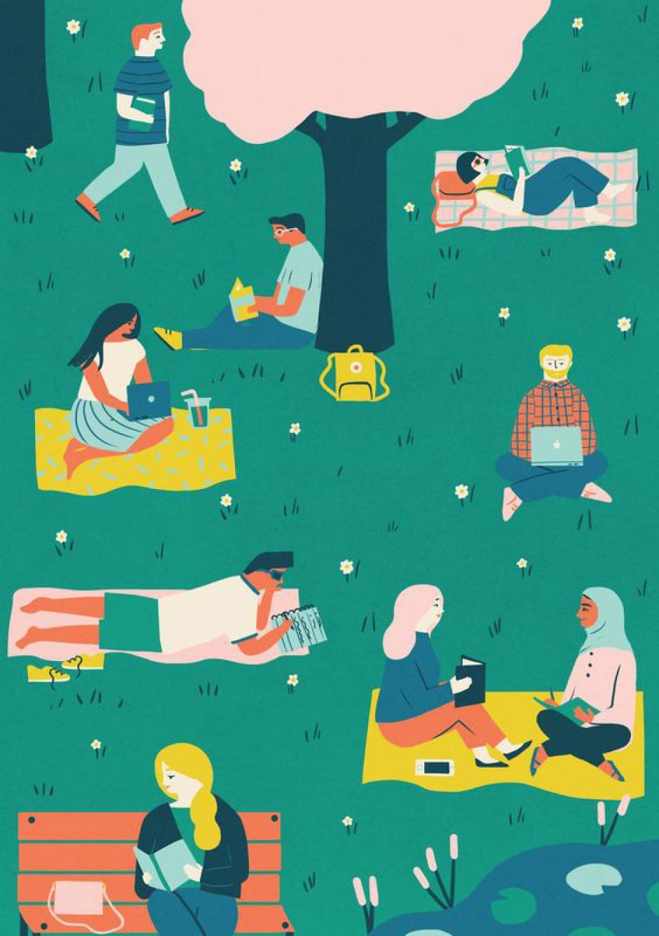 Tradizionali picnic al rientro dalle vacanze