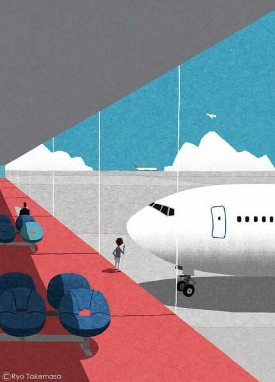 L'ambiente paga i nostri viaggi in aereo