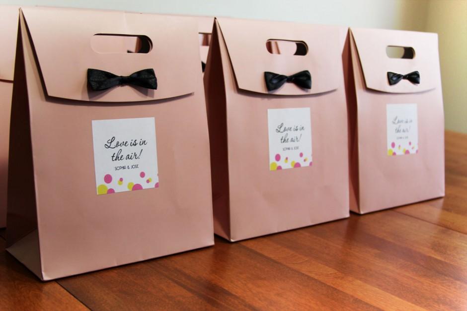 Wedding bag: il kit di sopravvivenza per gli invitati
