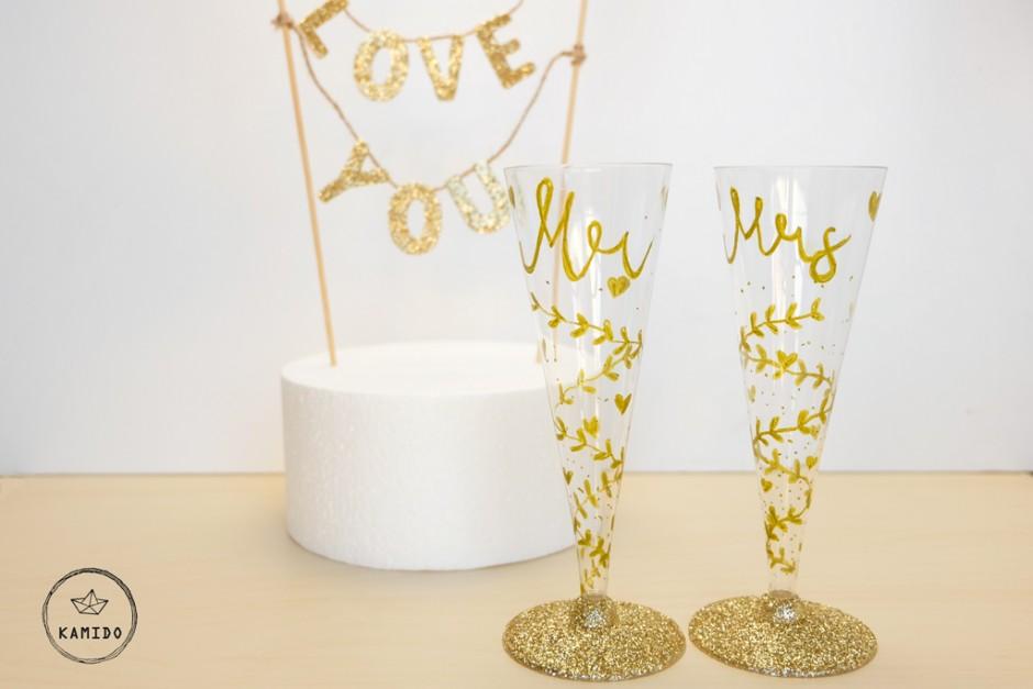 Champagne Wedding Flutes