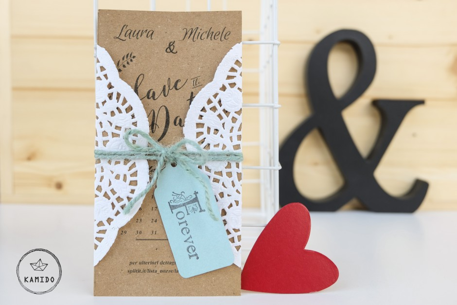 Save the Date card: DIY per il vostro matrimonio