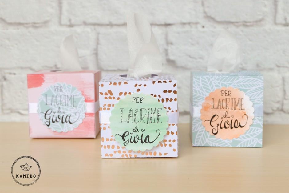 Mini box per lacrime di felicità