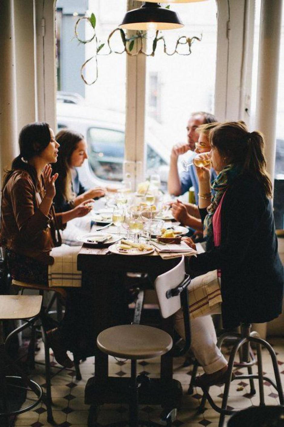 Cena tra coscritti con le collette online