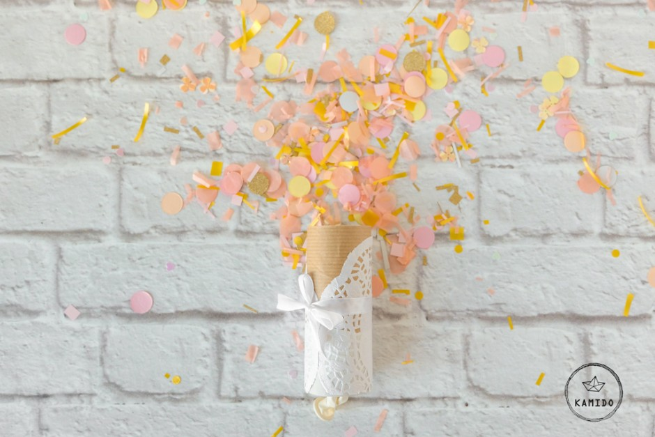Confetti Poppers: coni spara coriandoli