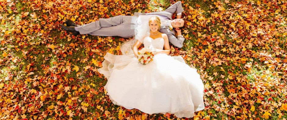 Perché sposarti in autunno è la migliore scelta che tu possa fare