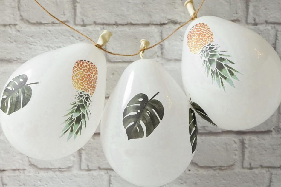 DIY palloncini gonfiabili decorati: Allestimento matrimonio fai da te - parte 2