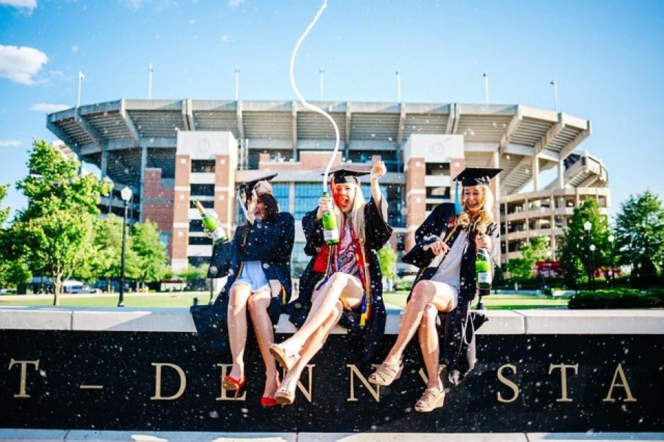 Tre migliori amiche, laureande, per tre liste laurea di successo con Splitted!