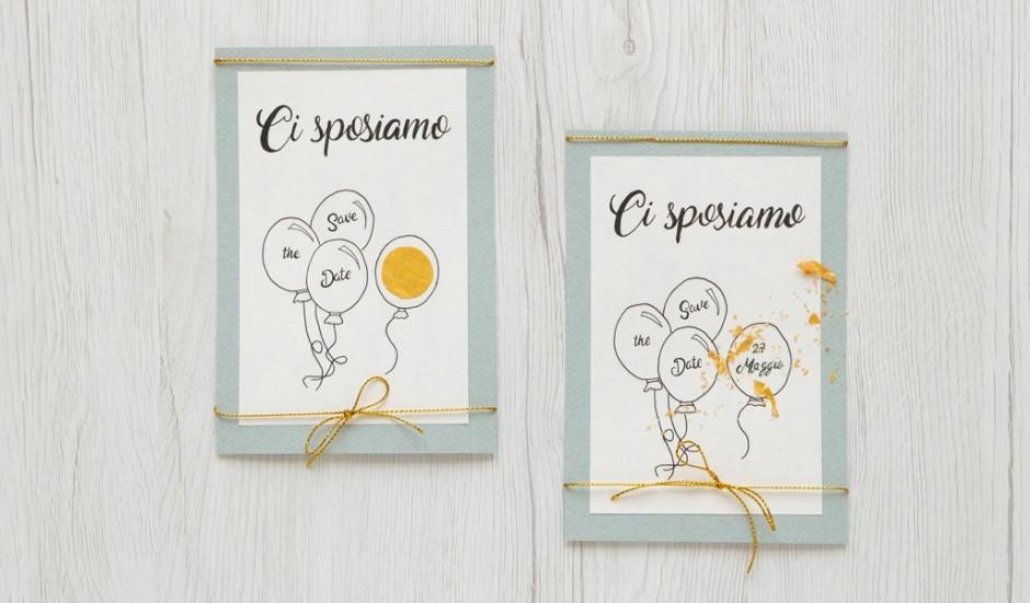 Save the Date Card: gratta e vinci un matrimonio