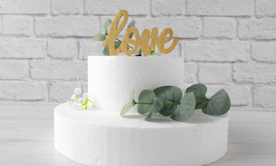 DIY: Cake Topper facile e veloce per un matrimonio handmade